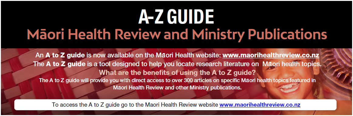 https://www.maorihealthreview.co.nz/mh/Conditions.aspx