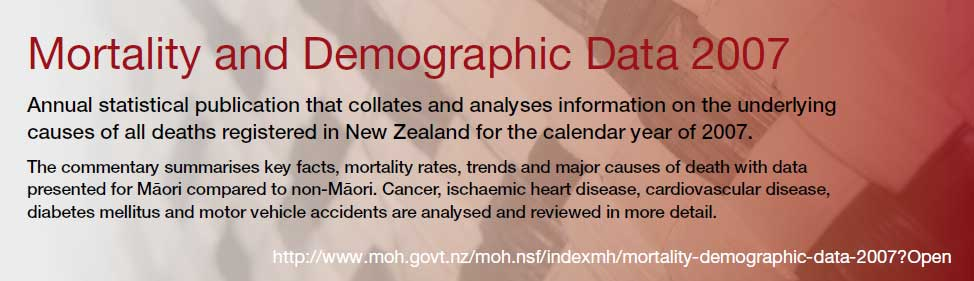 http://www.moh.govt.nz/moh.nsf/indexmh/mortality-demographic-data-2007?Open
